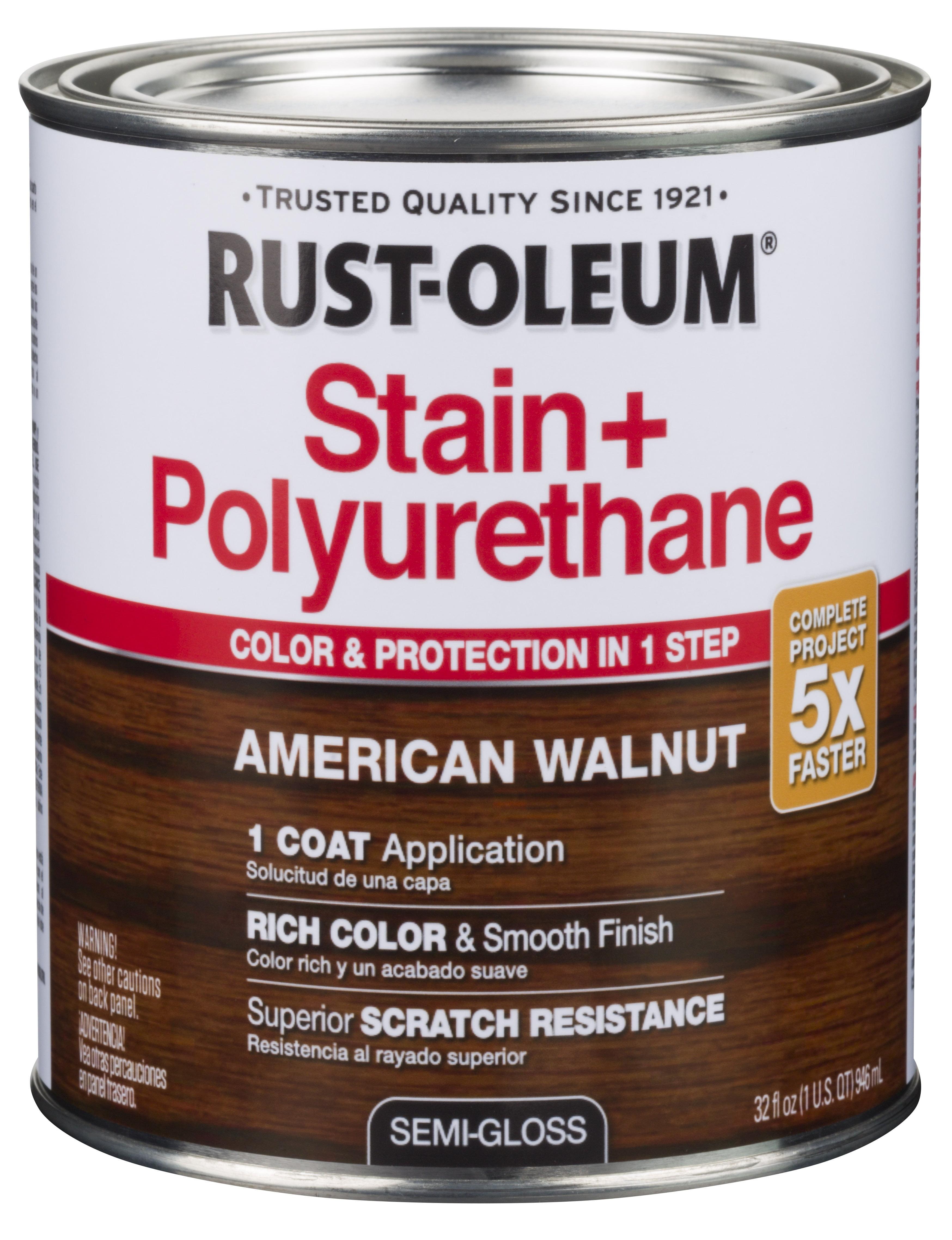 American Walnut Rust Oleum Stain
