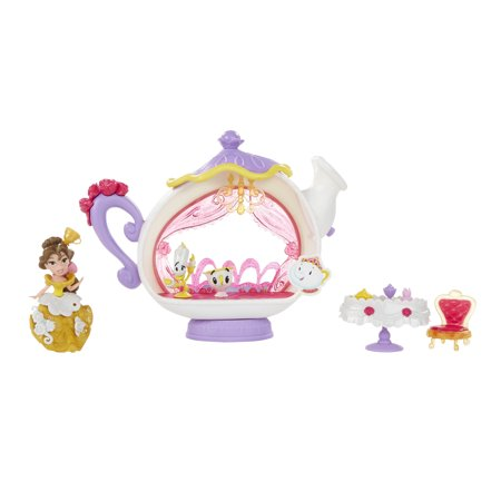 Disney Princess Little Kingdom Belle's Enchanted Dining Room (Disney Princess Plug)