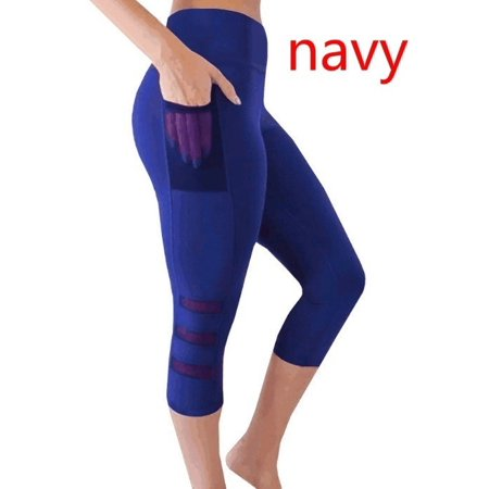 Women Tights Capri Running yoga Sport Pants