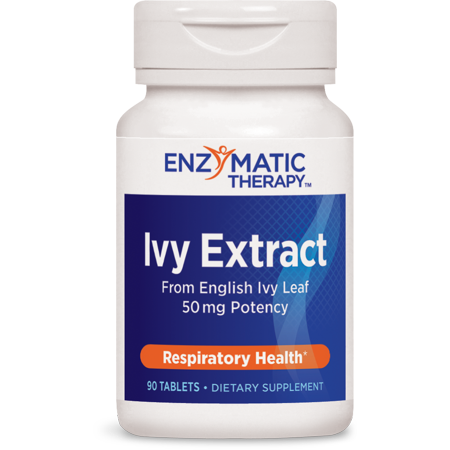 Enzymatic Therapy Ivy Extract Respiratory 90 Tablets