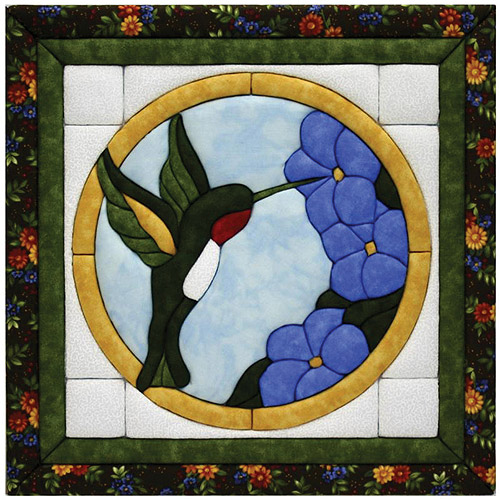 Quilt Magic Kit, Large Hummingbird