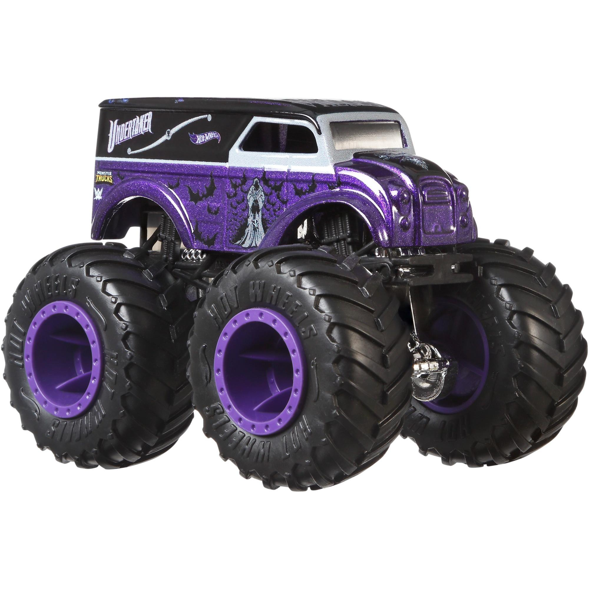 Hot Wheels Monster Trucks Wwe Die Cast Collection Styles May Vary Walmart Com Walmart Com