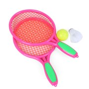 Badminton Set for Kids with 2 Rackets, Ball and Birdie Junior Tennis Racquet Play Game Beach Toys