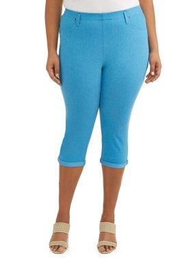 e013dbd26b Product Image Women s Plus Size Jegging Capri