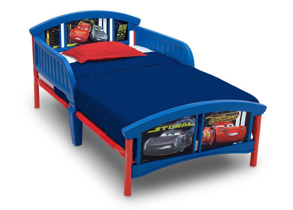 Disney Pixar Cars Plastic Toddler Bed by Disney%2FPixar