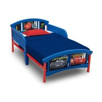 Delta Children Disney/Pixar Cars Plastic Toddler Bed, Blue