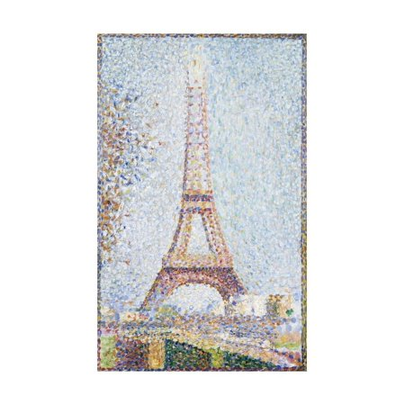 The Eiffel Tower, 1889 Print Wall Art By Georges Seurat