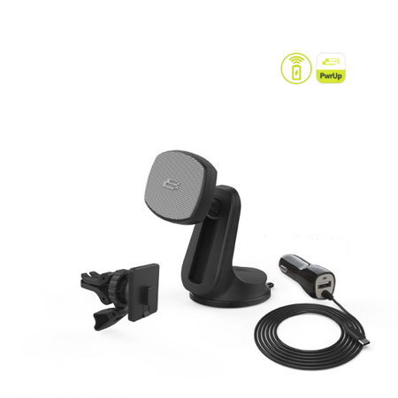 PwrUp Qi Fast Wireless Magnet Mount