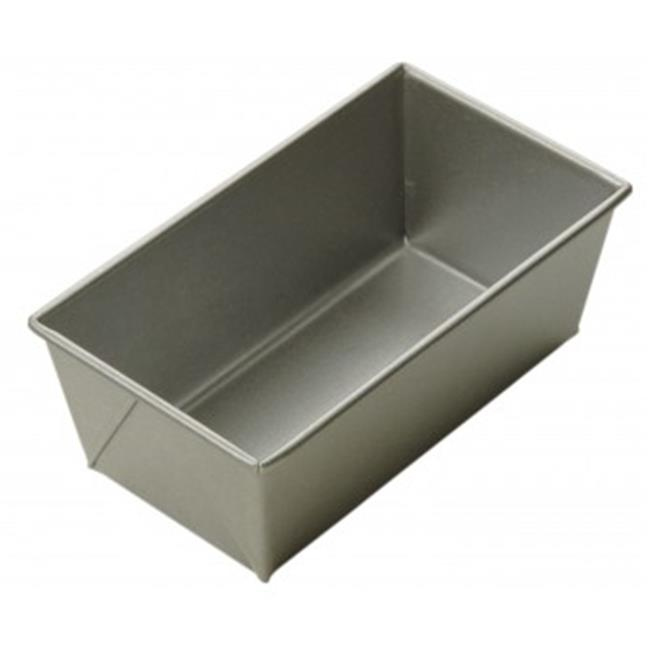 Focus Foodservice 909115 10 inch x 5 inch Open top bread pan - 1. 5 lb loaf - Case of 12