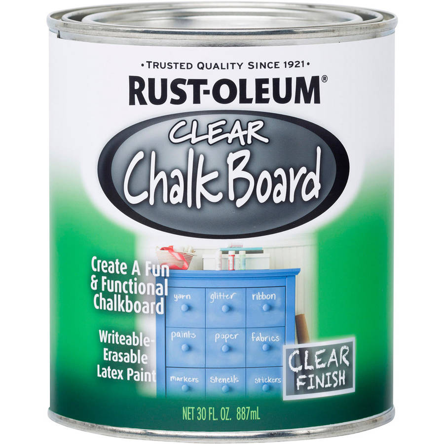 Clear Chalkboard Paint, 30 oz