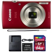 Canon Powershot Ixus 185 / ELPH 180 20MP Compact Digital Camera Red with 32GB Memory Card - Best Reviews Guide