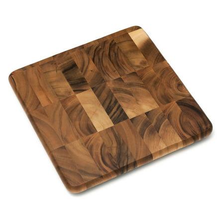 Wood Chopping Block (Lipper Acacia Square Chopping)