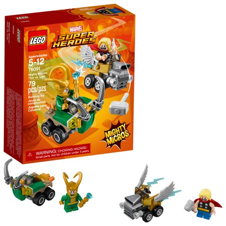 LEGO Super Heroes Mighty Micros: Thor vs. Loki 76091