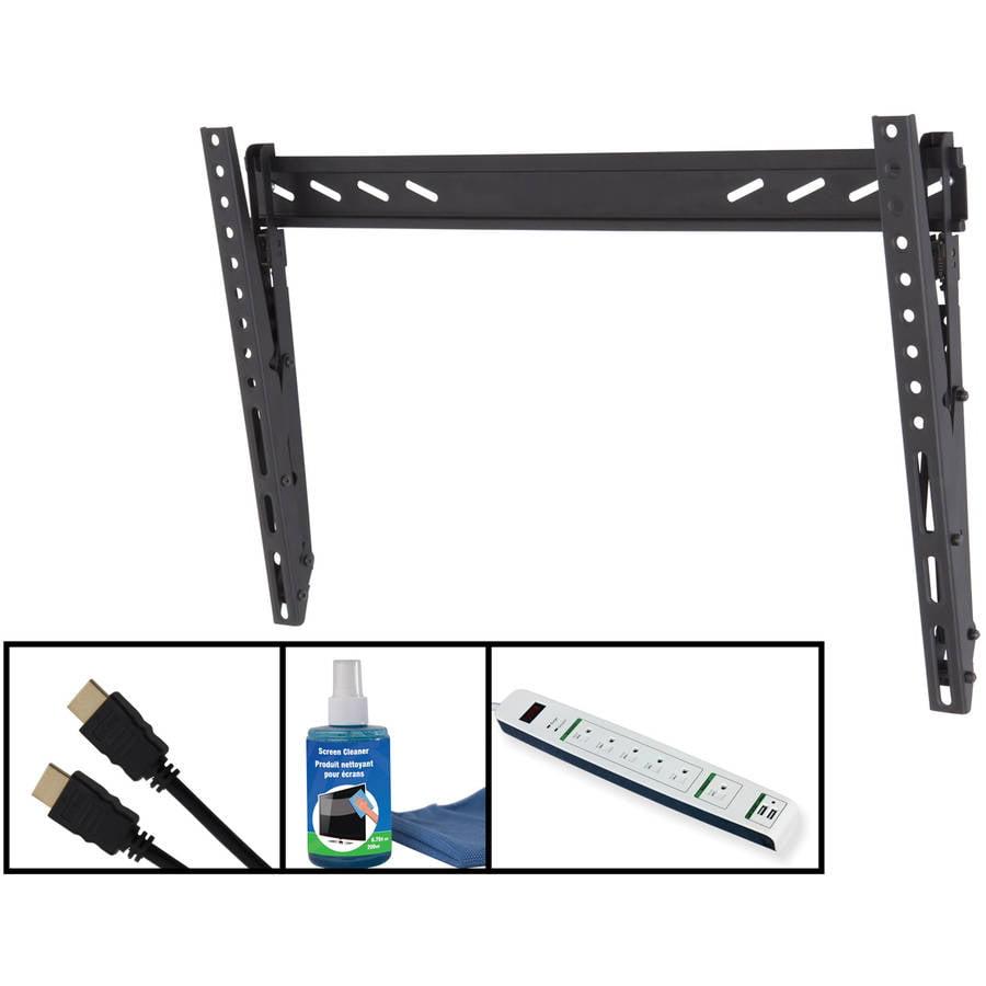 """AVF RVL601KIT-E Adjustable Tilt TV Wall Mount Kit for 37""""-65"""" Flat Panel TVs"""