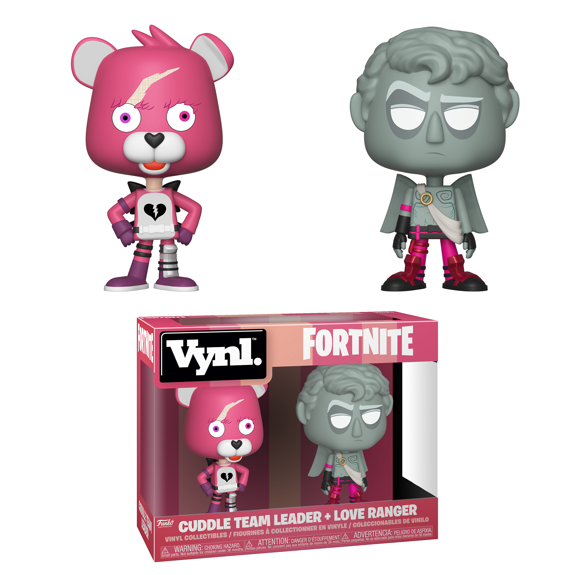 Funko VYNL: Fortnite S1a - Cuddle Team Leader & Love Ranger