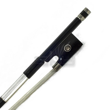 SKY 1/2  Violin Bow Satin Carbon Fiber Round Stick Mongolian Horsehair Silver (Best Sky Violin Bows)