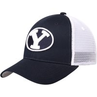 BYU Cougars Zephyr Big Rig Trucker Adjustable Snapback Hat - Navy - OSFA
