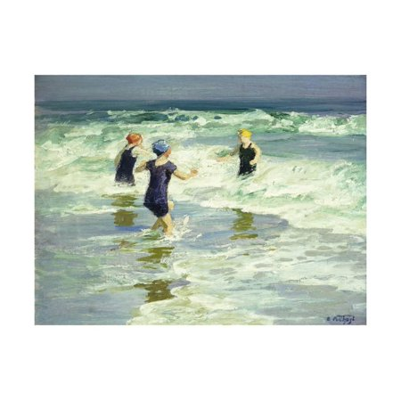 Three of a Kind Print Wall Art By Edward Henry Potthast ()