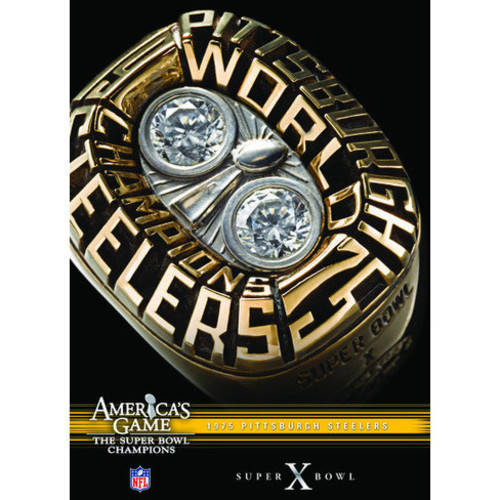 NFL America's Game: 1975 Steelers (Super Bowl X) ( (DVD)) by Allied Vaughn