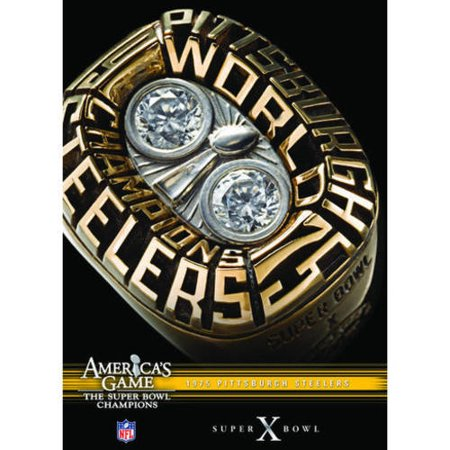 Nfl Americas Game  1975 Steelers  Super Bowl X