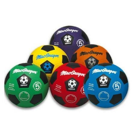 MacGregor Rubber Soccer Ball, Size 4 - Rubber Soccer Ball