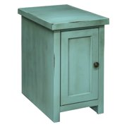 Legends Furniture Calistoga Blue Chair Table with Door