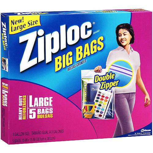 Ziploc Big Bag 5ct Walmart