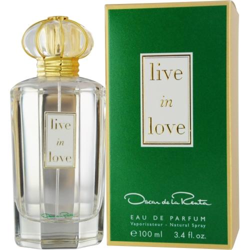 Oscar De La Renta Live In Love Eau De Parfum Spray 3.4 Oz By Oscar De