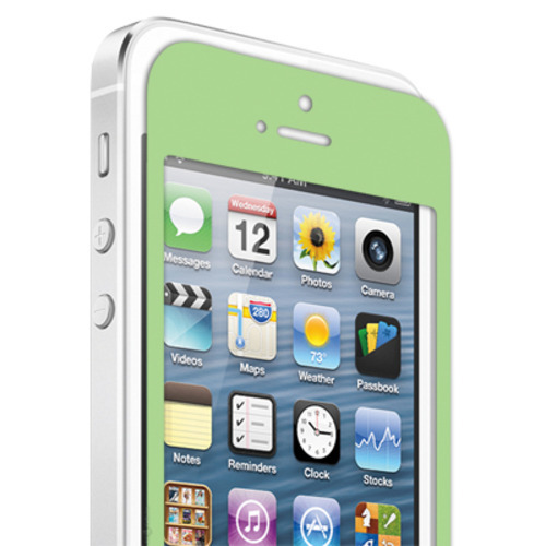 Chromo Inc. Crystal Clear Colored Screen Protector for Apple iPhone 5 - Green