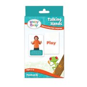 Brainy Baby Teach Your Child Sign Language Talking Hands Discovering Sign Language Deluxe Edition Flashcard Set