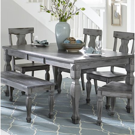 One Allium Way Julianna Extendable Solid Wood Dining Table ()