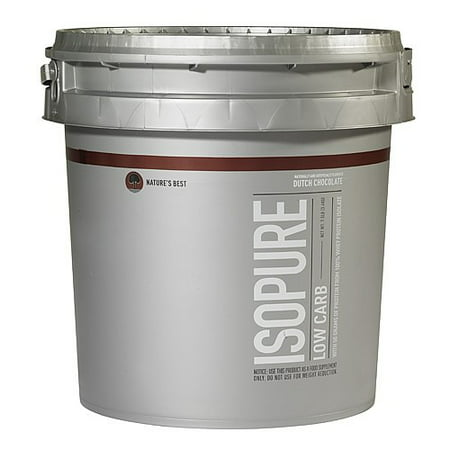 Isopure Low Carb Protein Powder, Chocolate, 50g Protein, 7.5