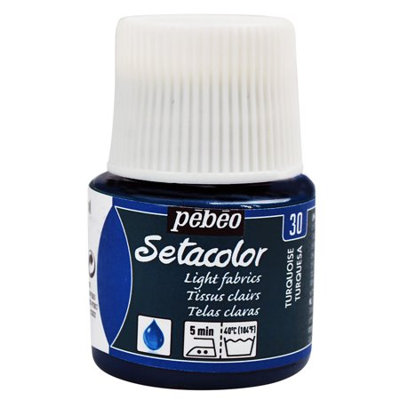 Pebeo Setacolor Light Fabric Paint, 45ml, - Pebeo Setacolor Fabric