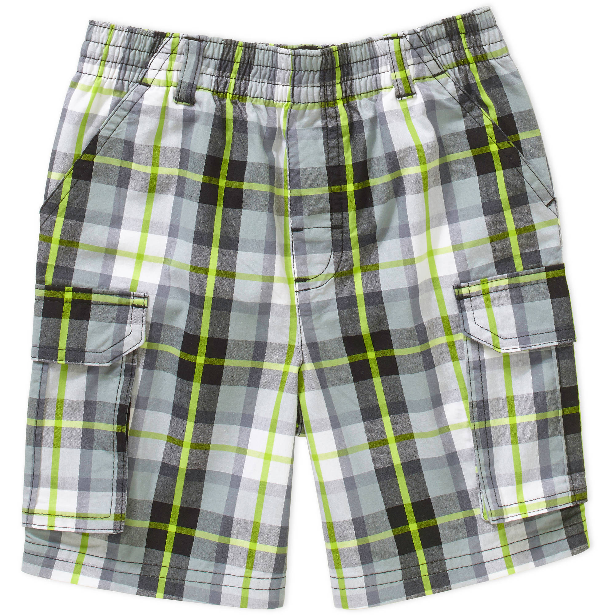 Garanimals Baby Toddler Boy Plaid Cargo Shorts