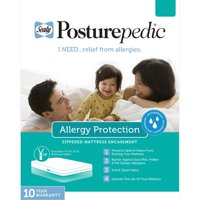 Sealy Allergen Barrier Zippered Mattress Protector