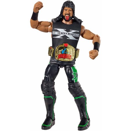 WWE Elite Collection XPAC Action Figure with Belt