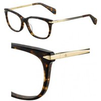 0a09bdaaf1 Product Image Eyeglasses Rag and Bone Rnb 3006 02IK Havana Gold