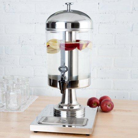 2.1 Gallon Stainless Steel Single Beverage Dispenser Center Ice (Single Beverage)