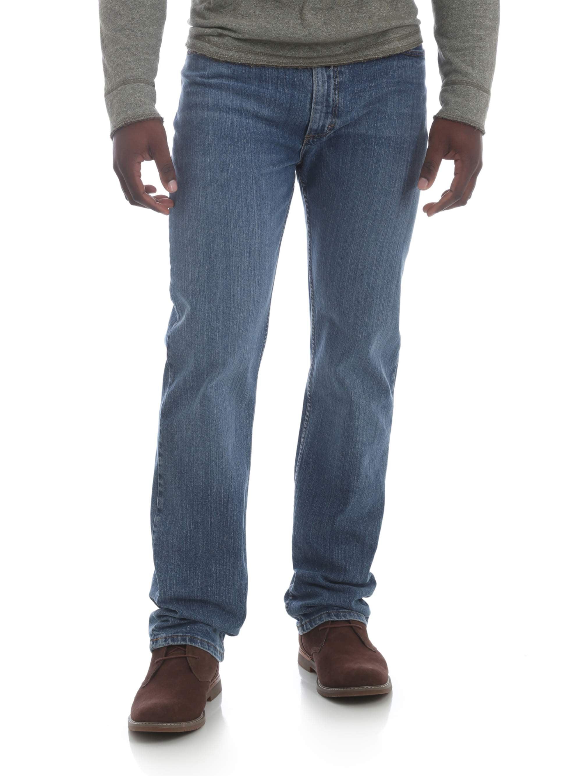 ef2e5808 Wrangler - Wrangler Men's 5 Star Regular Fit Jean with Flex - Walmart.com
