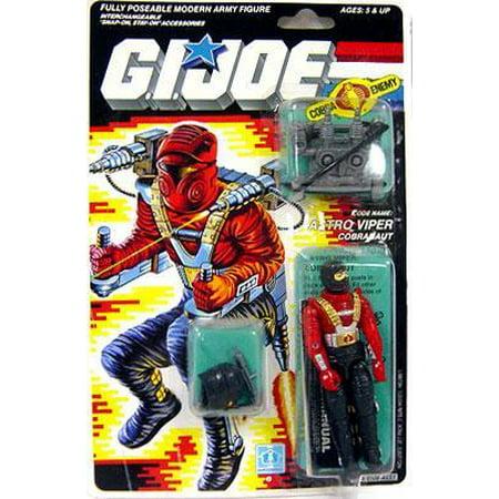 GI Joe Vintage Astro Viper Action Figure (Gi Joe Roadblock)