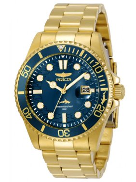 Invicta Men's Pro Diver 30024 Gold Stainless-Steel Japanese Quartz Diving Watch