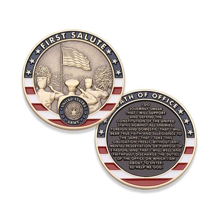 Army First Salute Challenge Coin - United States Army