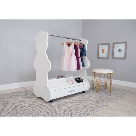 Ace Baby Furniture Bear Mobile Dress-Up Clothes; Shoes Organizer
