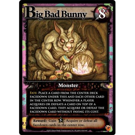 ultra pro ascension agprm-027 big bad bunny promo game card brand new promotional](Beach Bunny Promo Code)