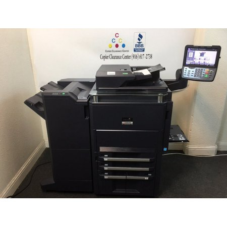 Kyocera TASKalfa 7550ci Copier Printer Scanner Fax Finisher low