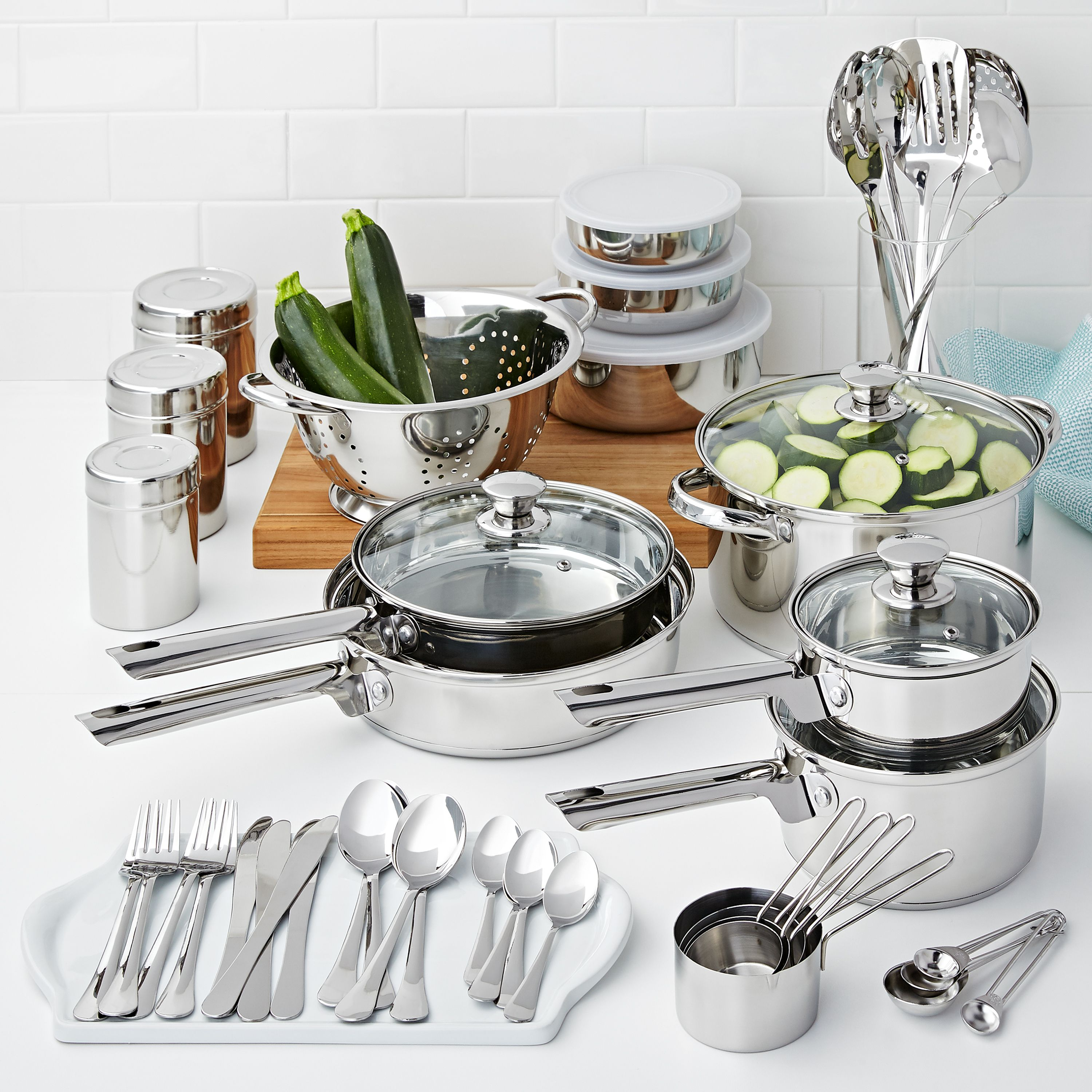 Mainstays Cookware Combo Set 5...