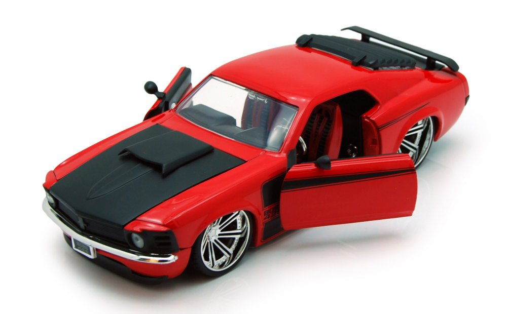 1970 Ford Mustang Boss 429, Red Jada Toys 90211 1 24 scale Diecast Model Toy Car (Brand... by Jada