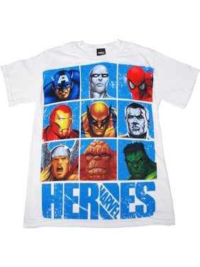 3a261c70097cb Product Image Marvel Comics Heroes T-Shirt. Mad Engine