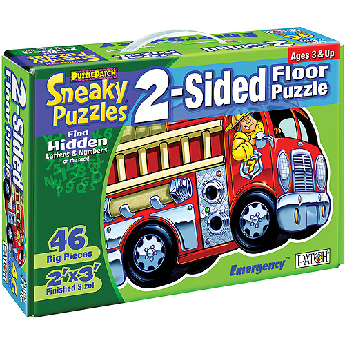 Patch Products 2-Sided Sneaky Floor Puzzle