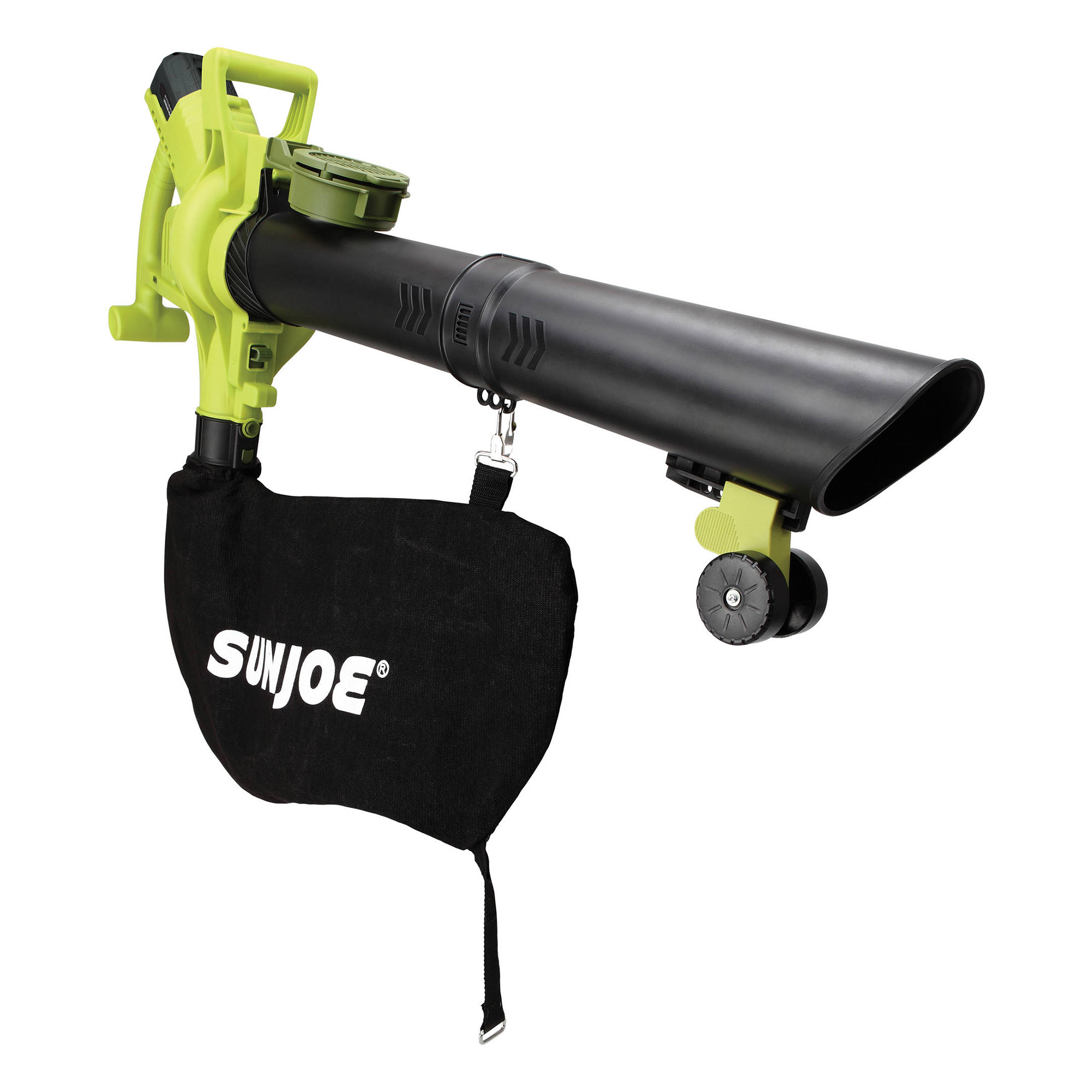 Sun Joe IONBV-XR 40V 5.0 Ah Cordless Lithium-Ion 3-in-1 Blower Kit